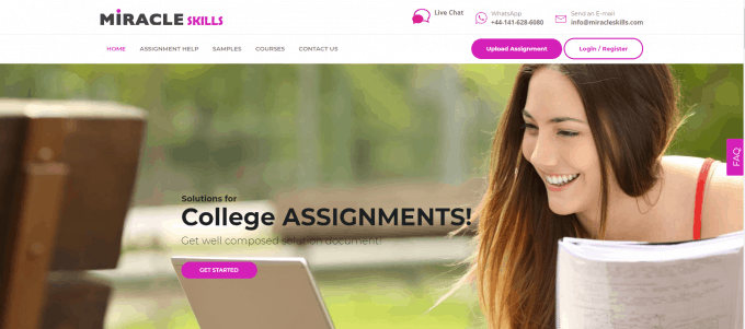 Miracleskills.com Website